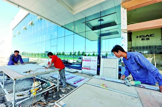 鹤壁航盛汽车电子工业园9月底将投用