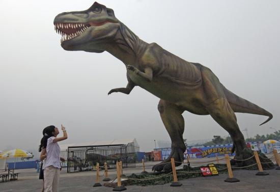 探梦恐龙岛主题乐园举行开园仪式